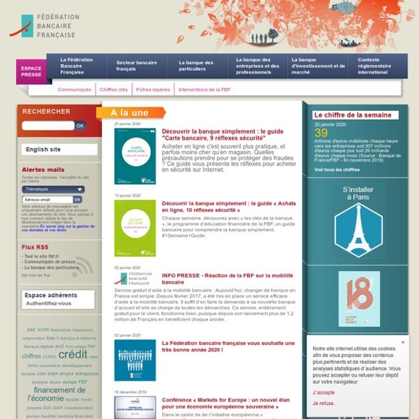 FBF - Fédération Bancaire Française