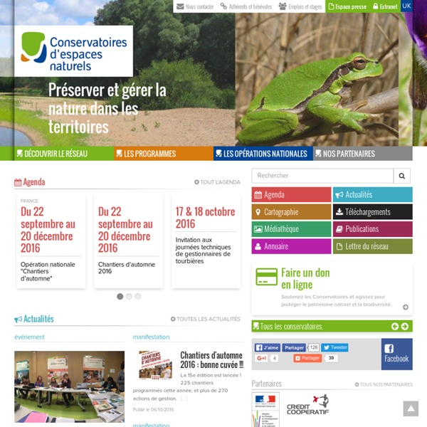 CEN : Fédération des Conservatoires d'Espaces Naturels