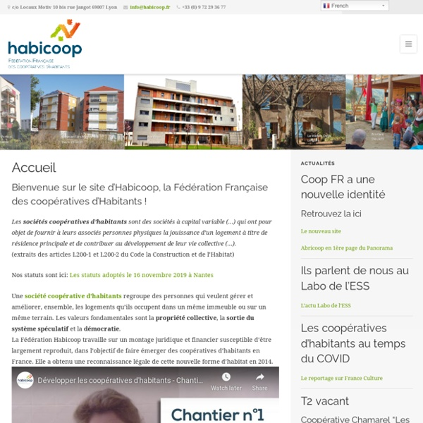 Association HABICOOP - Habitat coopératif