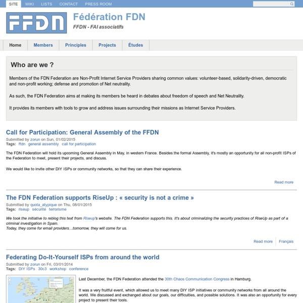 FFDN - FAI associatifs