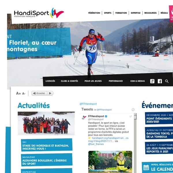 Site officiel de la Fédération Française Handisport