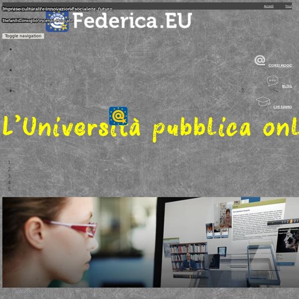 Federica.EU - L'università pubblica online