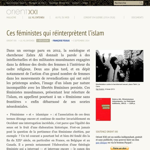 Ces féministes qui réinterprètent l'islam