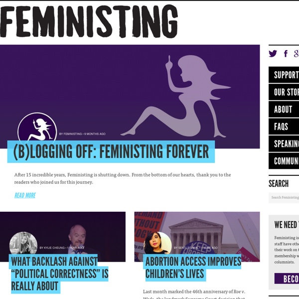 Young Feminists Blogging, Organizing, Kicking Ass