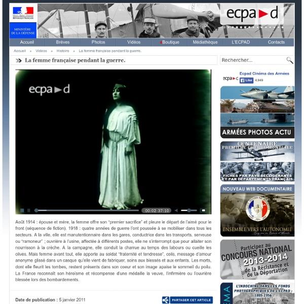 La femme française pendant la guerre