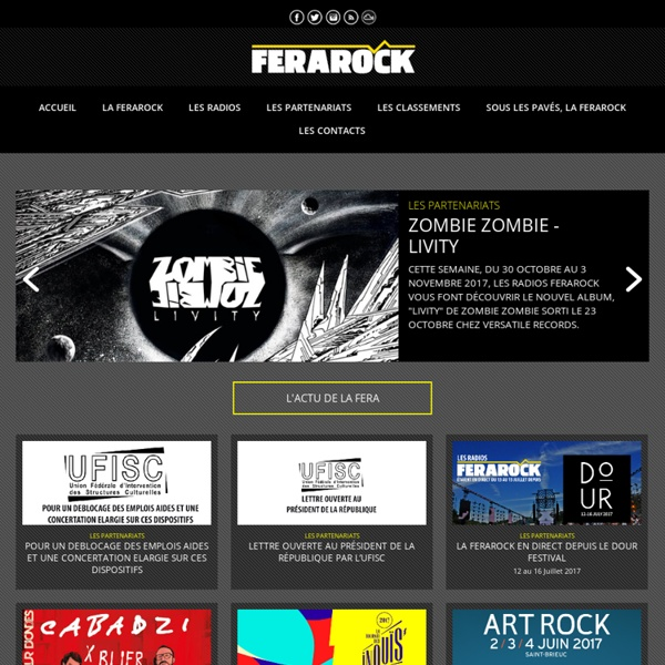 FERAROCK - Fédération des Radios Associatives Rock