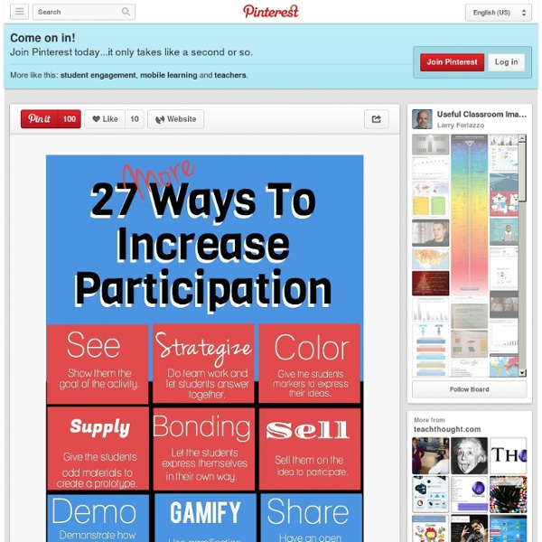 Useful Classroom Images / 27-ways-to-increase-engagement-in-learning