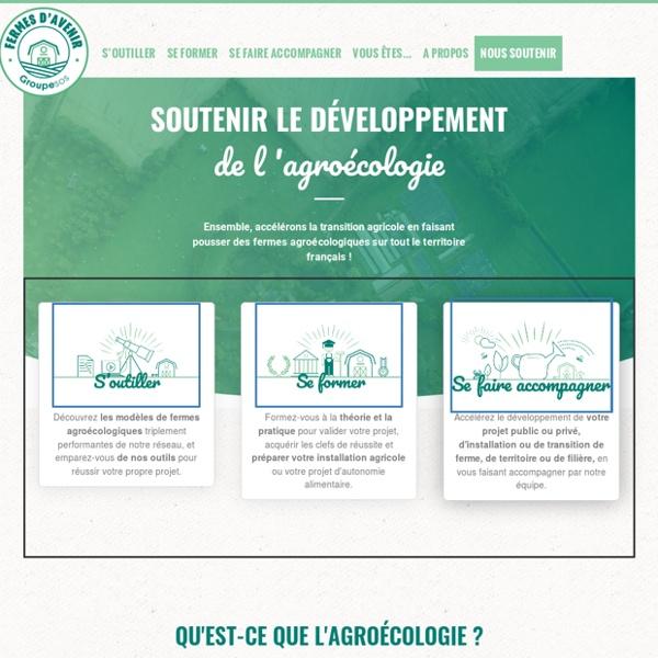 Le site fermes d'avenir - agroecologie & permaculture.