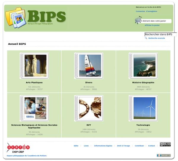 BIPS : banque d'images pédagogiques à télécharger gratuitement