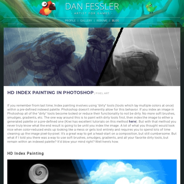 Pixelart_method_photoshop_Dan Fessler