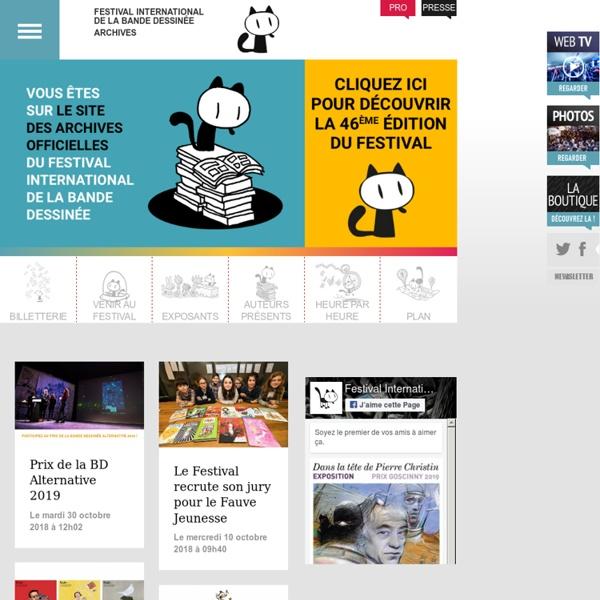 47e Festival de la Bande Dessinée d'Angoulême