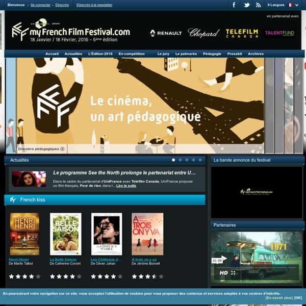 My French Film Festival - Festival en ligne dans le monde entier - du 18 Janvier au 18 Février 2016
