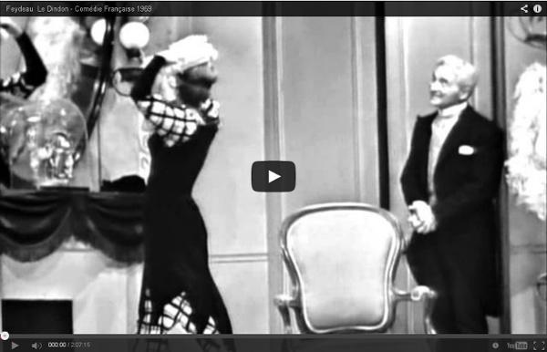 Feydeau Le Dindon - Comédie Française 1969