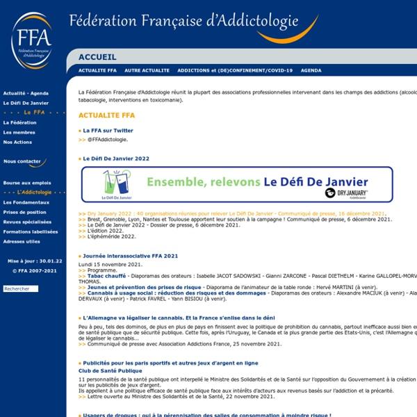 Fédérations françaises d'addictologie