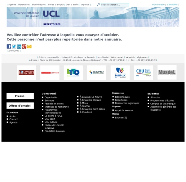 UCL/SRI - Les règles de la Netiquette