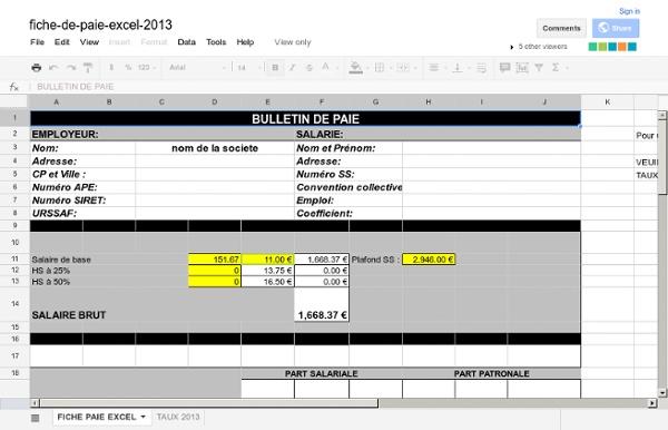 Fiche-de-paie-excel-2013