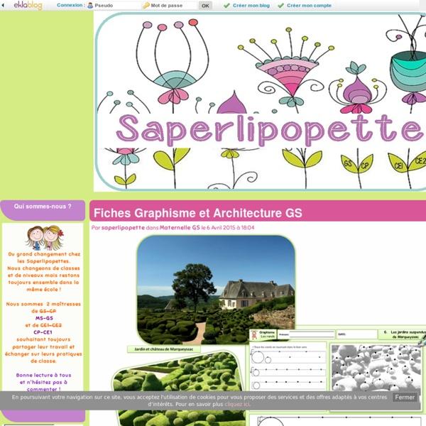 Fiches graphisme et architecture gs pearltrees - Effroyables jardins histoire des arts ...