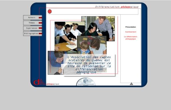 Site de la différentiation pédagogique - Auteurs