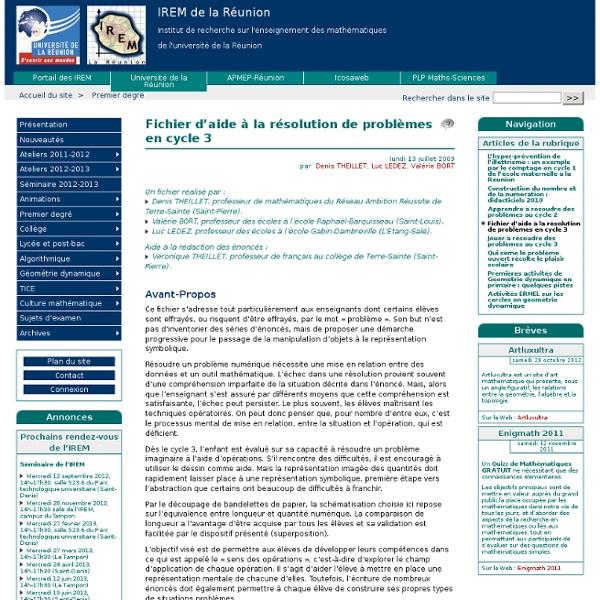 Fichier d'aide à la résolution de problèmes en cycle 3
