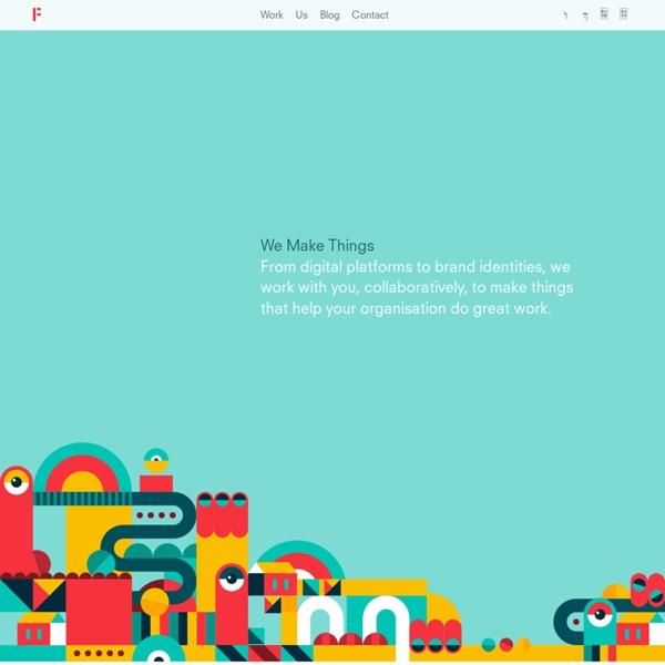 Fieldwork — We Make Things