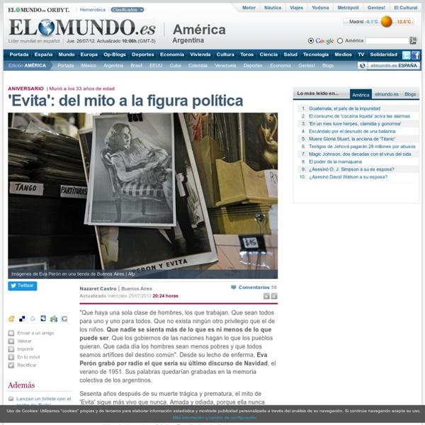 'Evita': del mito a la figura política