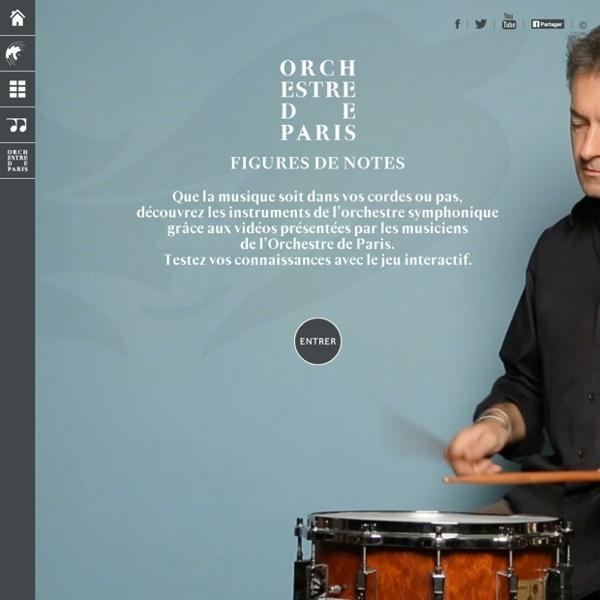 Figures de notes: Orchestre de Paris