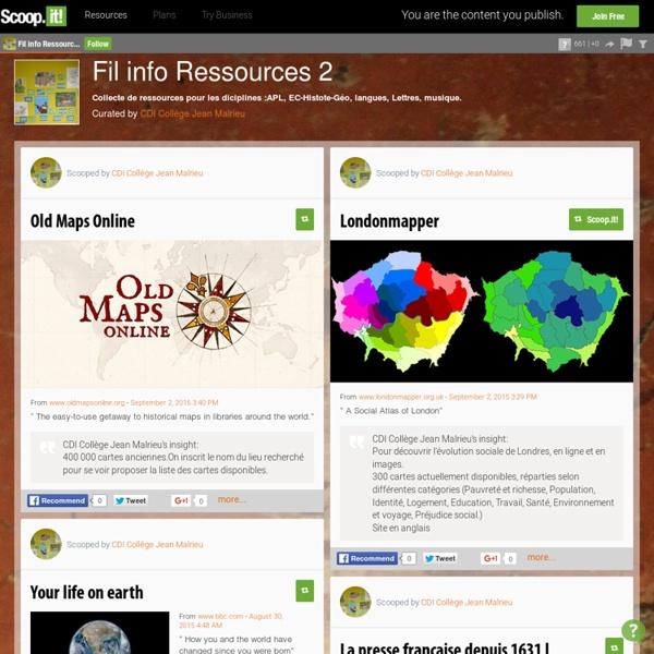 Fil info Ressources 2
