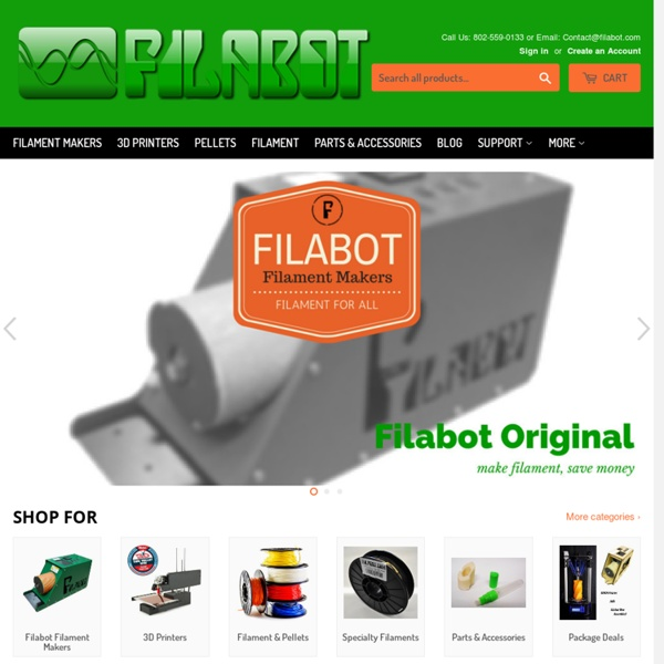 Filabot Personal Filament Maker for 3D Printers - Desktop Extruding System – Environmentally Friendly