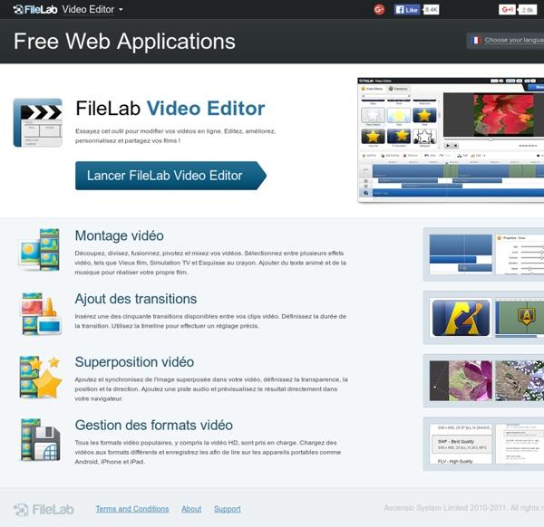 FileLab Video Editor: éditeur vidéo en ligne facile et gratuit