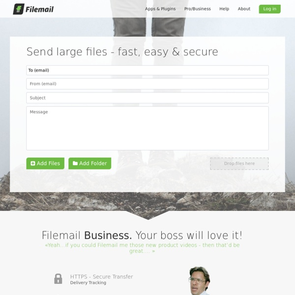 Filemail.com - Send large files - fast, easy & secure