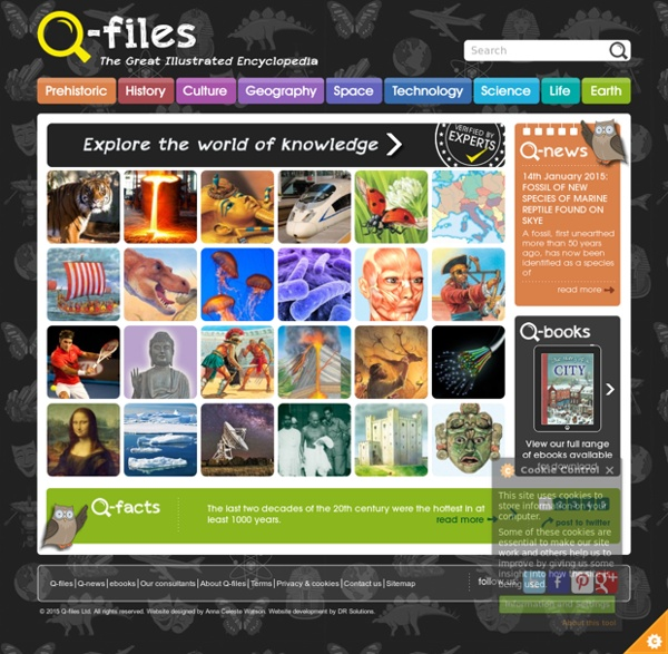 Q-files - The Great Illustrated Encyclopedia