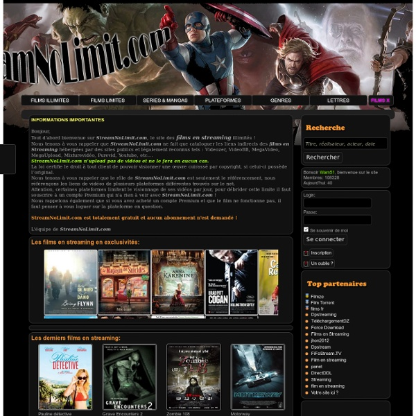 Film en streaming illimité