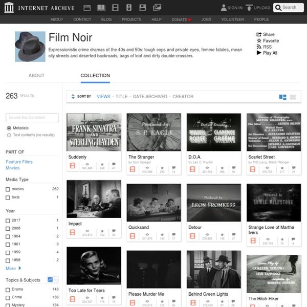 Film Noir : Free Movies