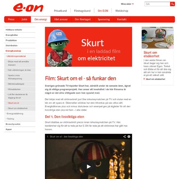 Film: Skurt om el - så funkar den - E.ON