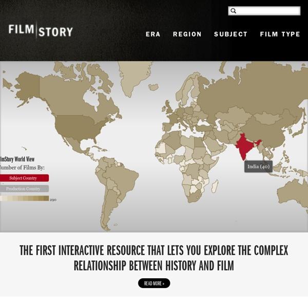 Filmstory : pour trouver des films à travers le monde en lien avec l'histoire