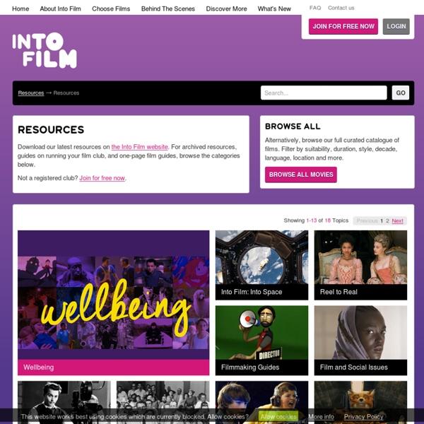FILMCLUB - Resources