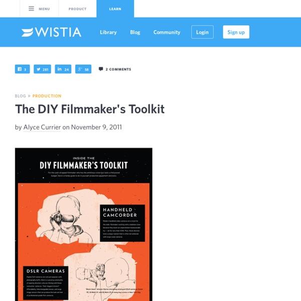 The DIY Filmmaker's Toolkit