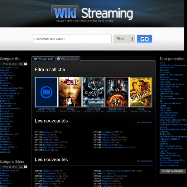 Films en streaming - WikiStreaming.com