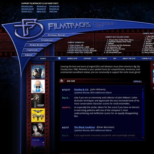 Filmtracks Modern Soundtrack Reviews