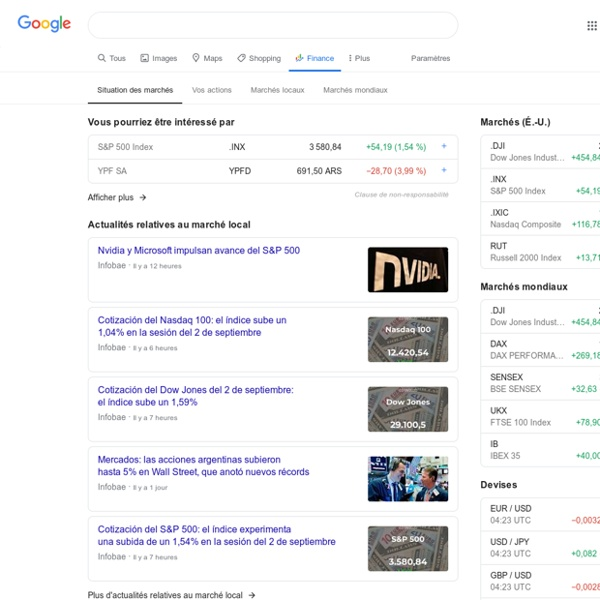 Google Finance Stock Market Quotes News: Finance: Stock Market Quotes, News, Currency Conversions