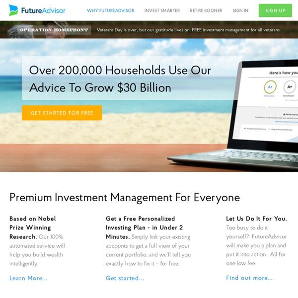 Online Financial Advisor & Investing Advice
