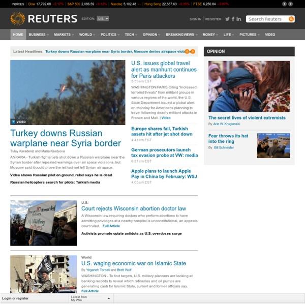 business financial news breaking us international news reuters com