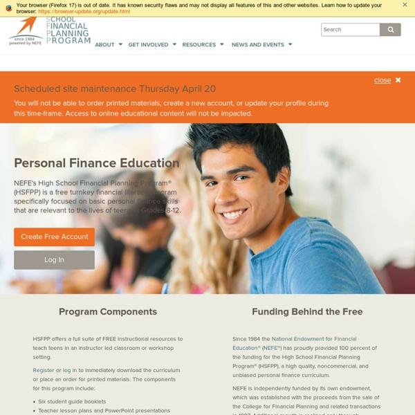 NEFE High School Financial Planning Program