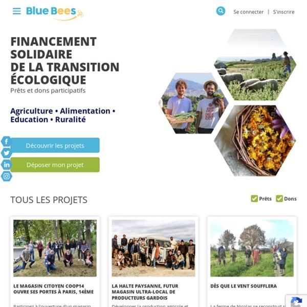 Blue Bees - Finançons une agriculture ... d'avenir !