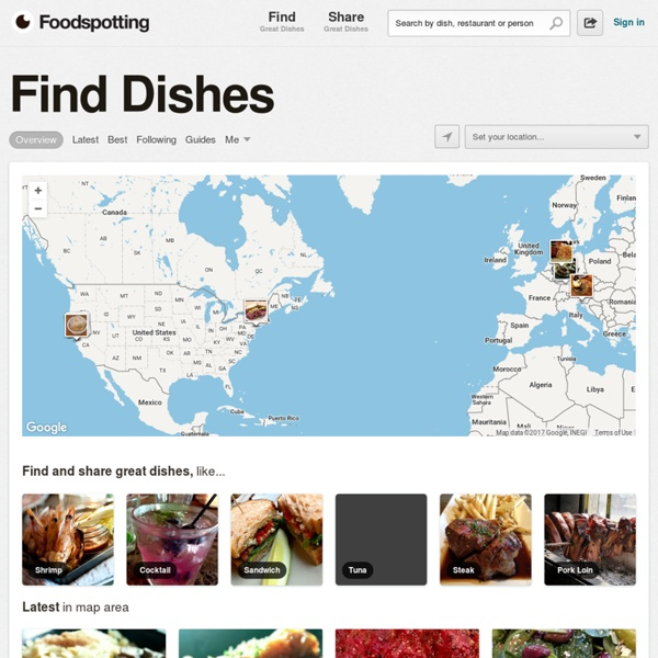 Foodspotting - Find and recommend dishes, not just restaurants.