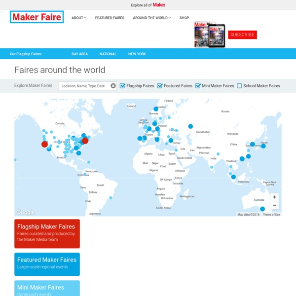 Find a Faire Near You - MakerFaire