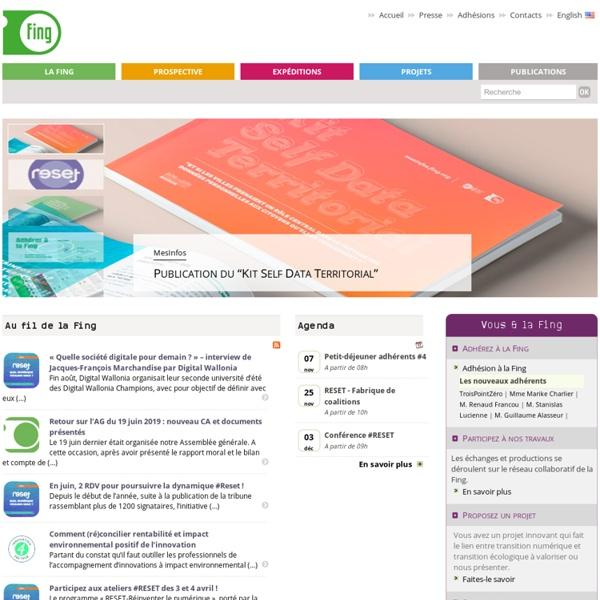 Fing.org - Fondation Internet Nouvelle Génération