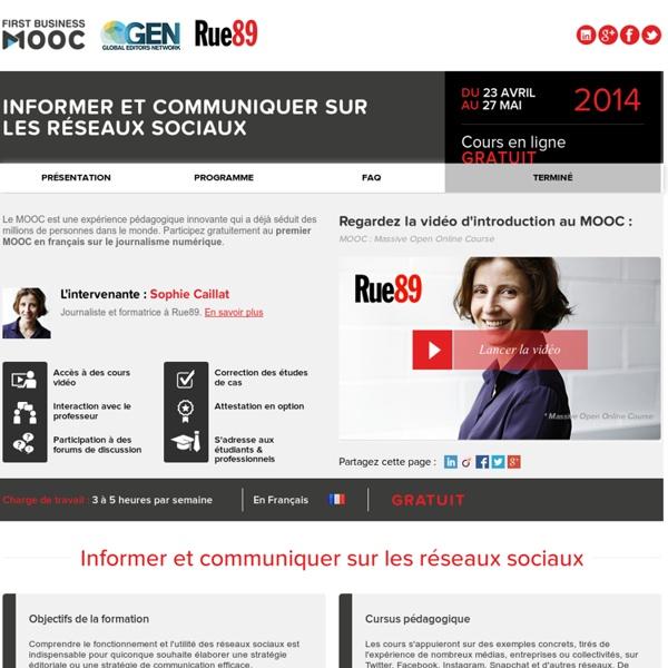 FIRST BUSINESS MOOC - RUE89