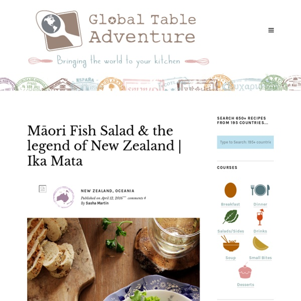 Tartare de thon maori