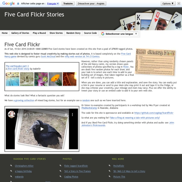 Five Card Flickr